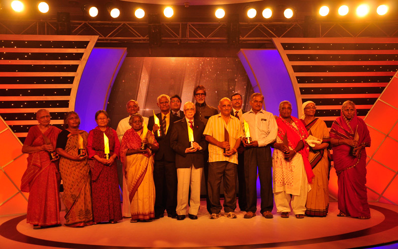 Winner at CNN IBNs Senior Citizen Awards